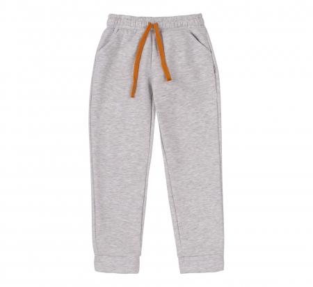 Pantalon trening cu buzunare, fete, Gri [0]