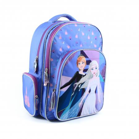 Rucsac scoala, fete, Mov/Albastru, Frozen 41*16*32 [2]