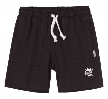 Pantalon scurt 3/4 cu buzunare, baieti, Gri inchis [0]