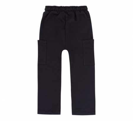 Pantalon trening, baieti, Negru [1]
