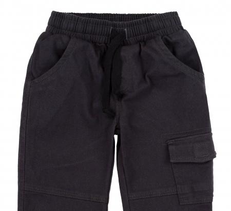 Pantalon lung tip blugi, Bumbac 100%, baieti, Bleumarin [1]