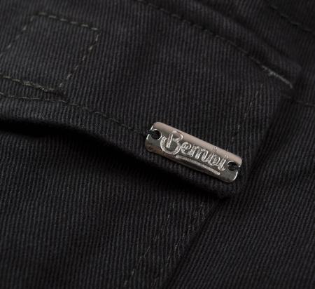Pantalon lung tip blugi, Bumbac 100%, baieti, Bleumarin [4]