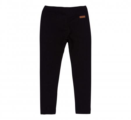 Pantalon lung, leggings, fete, Negru, Safary0
