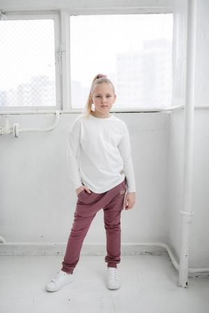 Pantalon lung cu buzunare, fete, Violet, Seven Heaven1