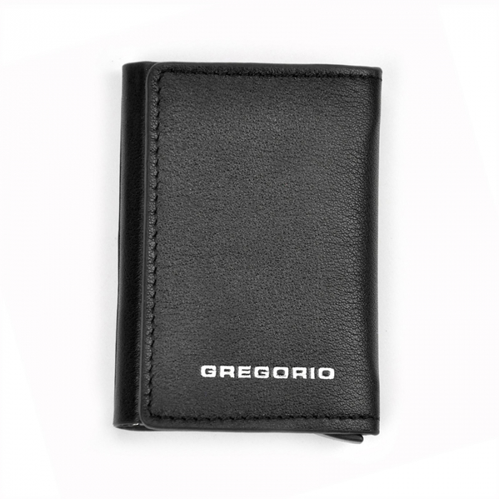 Portcard barbati din piele naturala PB2503, cu protectie RFID [8]