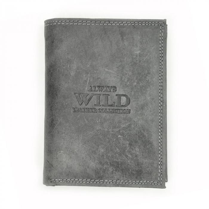 Portofel barbati din piele naturala Wild N4-CHM RFID 9