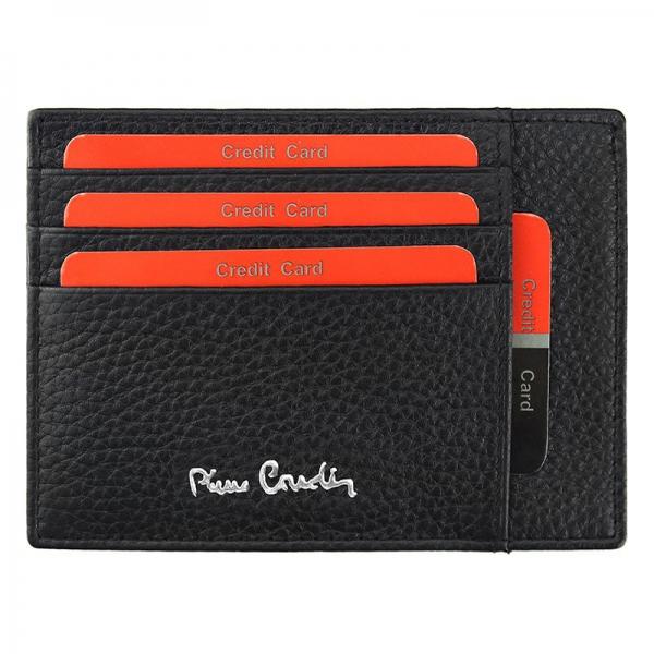 Port Card barbati din piele naturala Pierre Cardin PB248 0