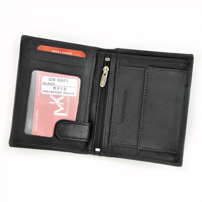 Portofel barbati din piele naturala Money Kepper CN 5601 RFID 4