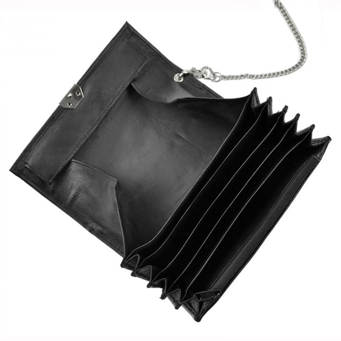 Geanta cu portofel din piele naturala pentru opsatari, chelneri sau barmani Cavaldi 3999-PDM-kelnerski 2