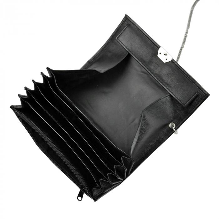 Geanta cu portofel din piele naturala pentru opsatari, chelneri sau barmani Cavaldi 3999-PDM-kelnerski 3