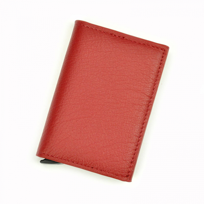 Portcard barbati din piele naturala PB2505, cu protectie RFID 10