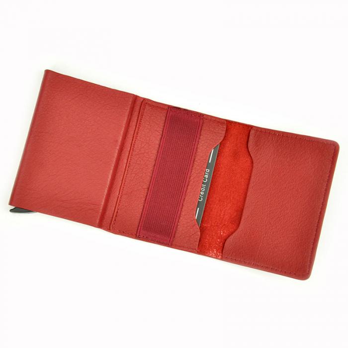 Portcard barbati din piele naturala PB2505, cu protectie RFID 13