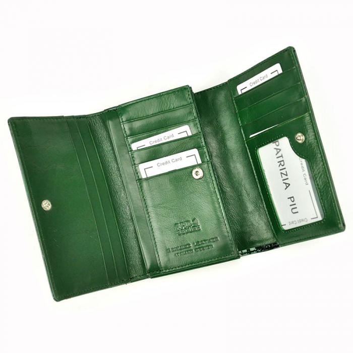 Portofel dama din piele naturala Patrizia Piu FF-112 RFID [8]