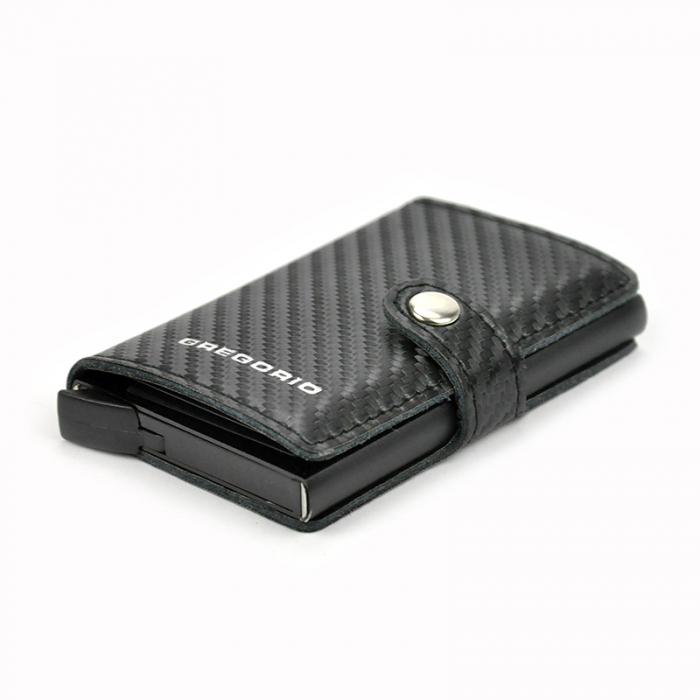 Portcard barbati din piele naturala PB2502, cu protectie RFID 8