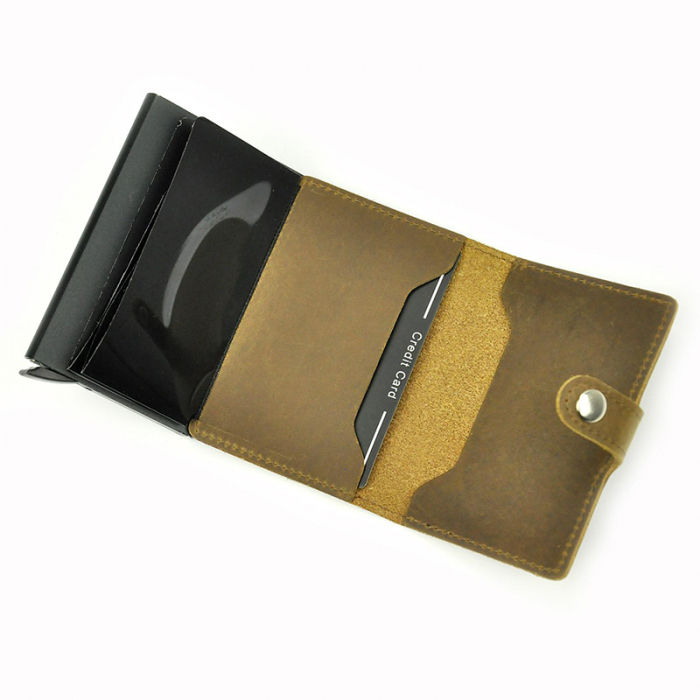 Portcard barbati din piele naturala PB2501, cu protectie RFID [15]