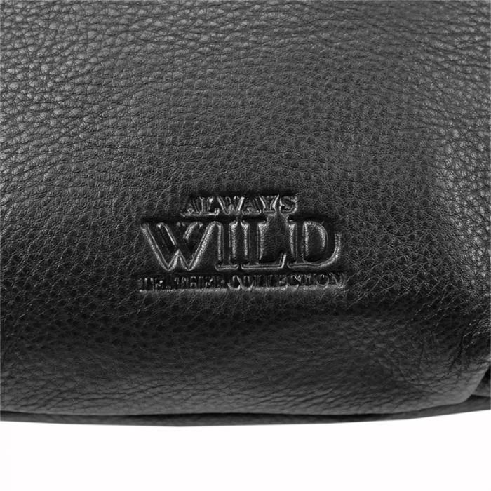 Borseta pentru barbati din piele naturala Always Wild 106-ndm 4