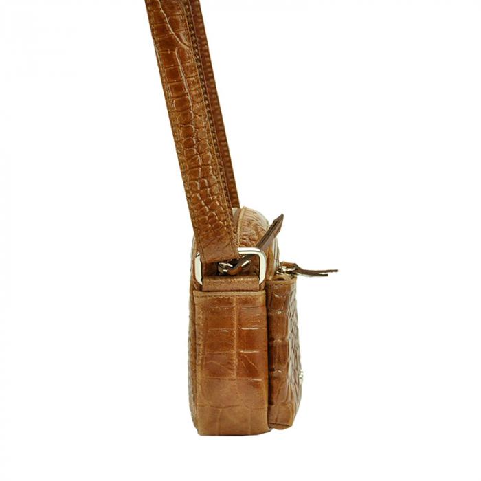 Geanta dama din piele naturala Pierre Cardin FRZ 1789 COCCO 1