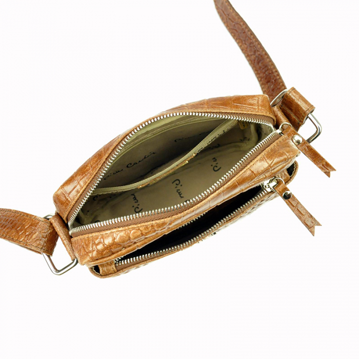 Geanta dama din piele naturala Pierre Cardin FRZ 1789 COCCO 7
