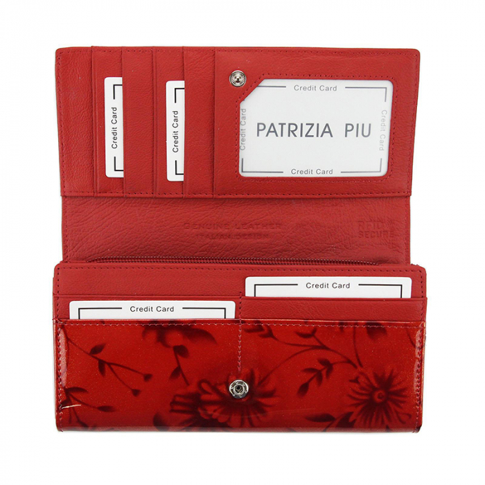 Portofel dama din piele naturala Patrizia Piu PD2514 [3]