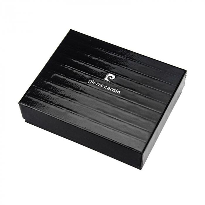 Portofel barbati din piele naturala Pierre Cardin YS520.1 323A RFID 8