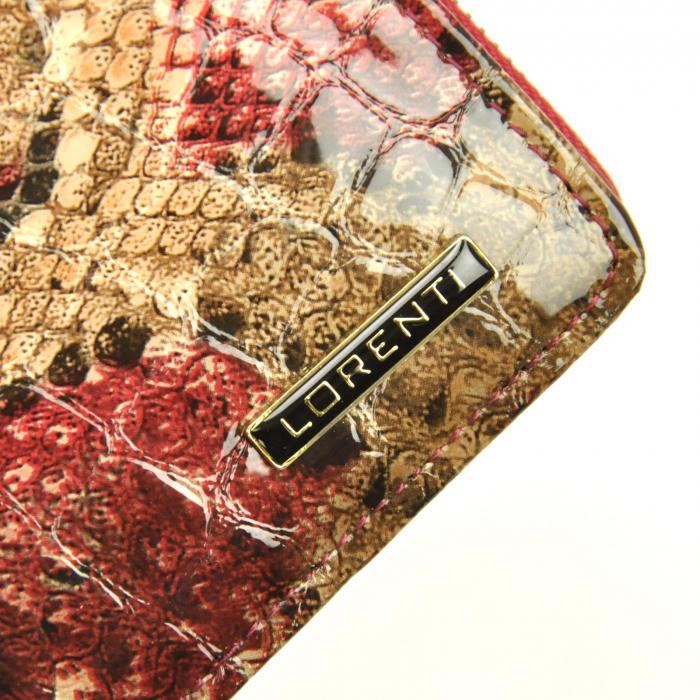 Portofel dama din piele naturala Lorenti 76116-DR RFID [3]