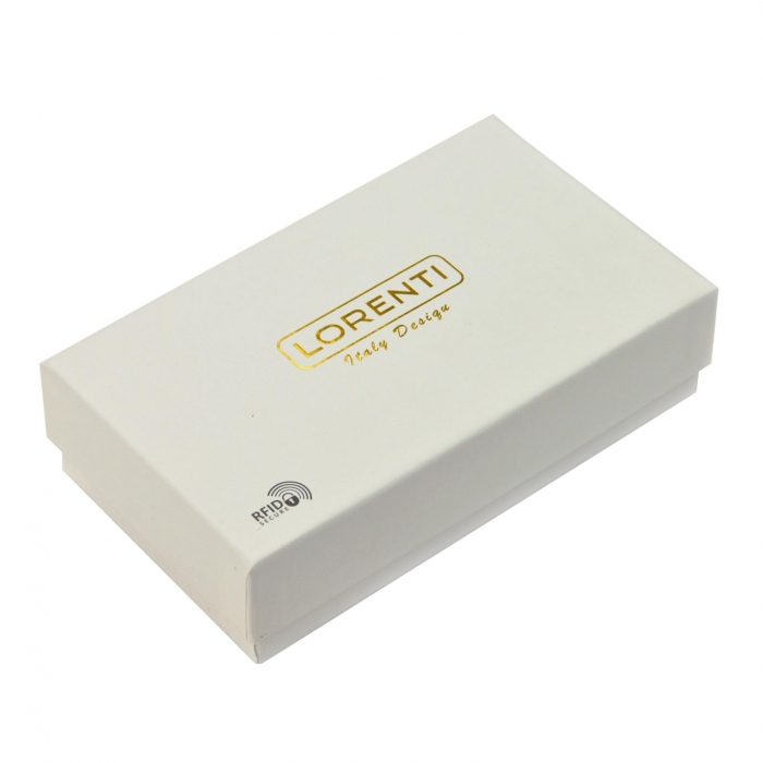 Portofel dama din piele naturala Lorenti 76119-DR RFID [8]