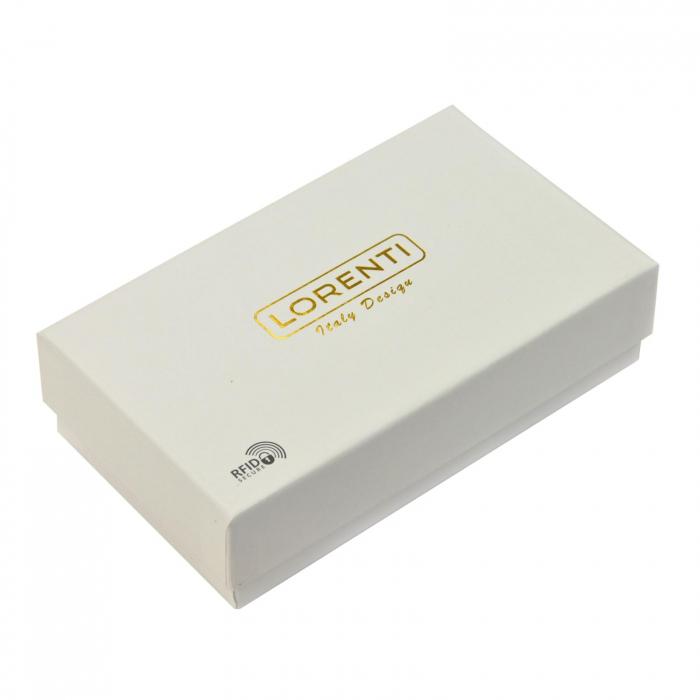 Portofel dama din piele naturala Lorenti 76116-DR RFID [8]