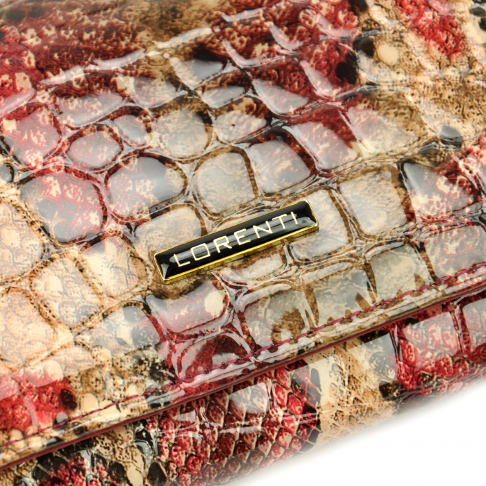 Portofel dama din piele naturala Lorenti 1077-DR RFID [3]