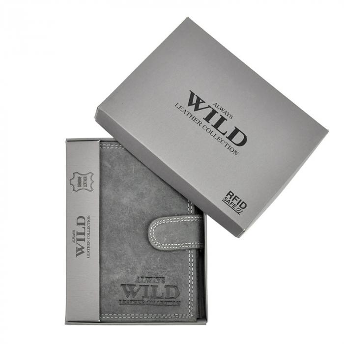 Portofel barbati din piele naturala Wild N4L-CHM RFID [7]