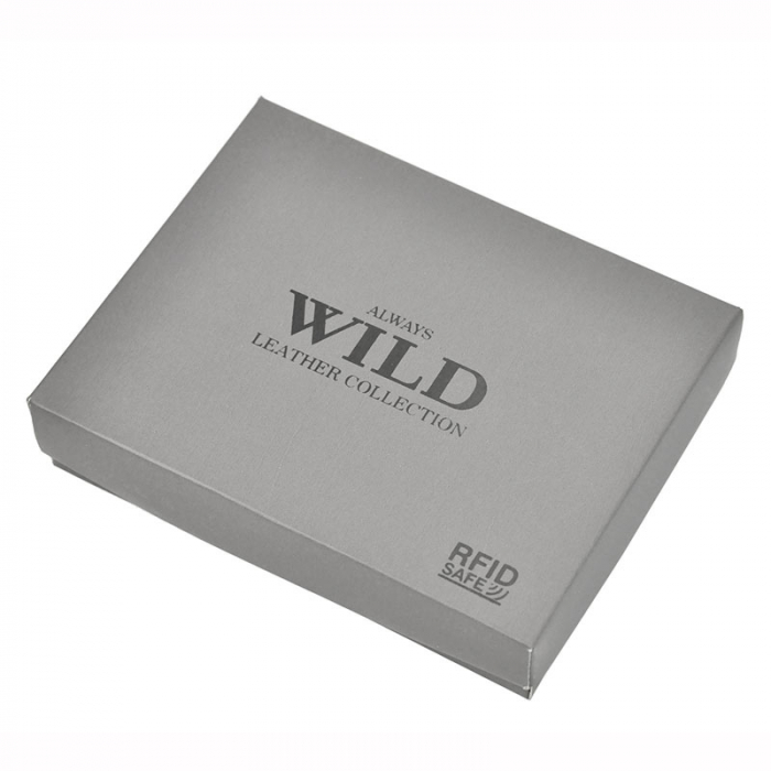 Portofel barbati din piele naturala Wild N992-CHM RFID 7