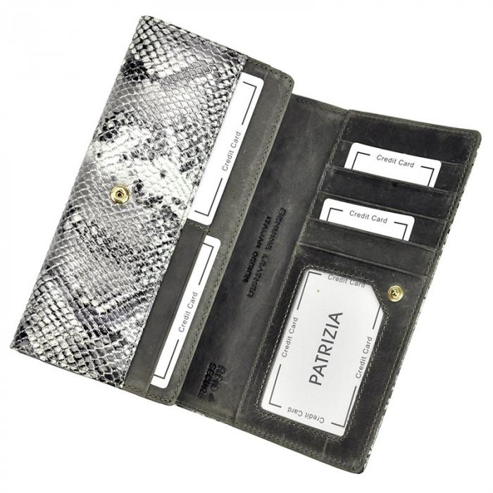 Portofel dama din piele naturala PATRIZIA SNR-106 RFID [4]