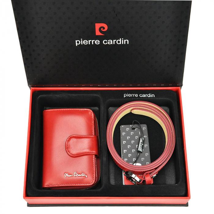 Set cadou dama portofel si curea dama din piele naturala Pierre Cardin ZG-W-06 [0]