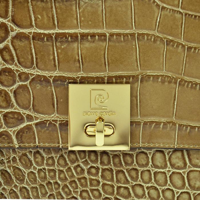 Geanta dama din piele naturala Pierre Cardin 5308 EDF COCCO [4]