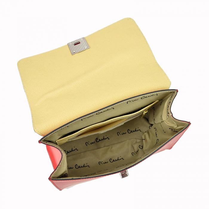 Geanta dama din piele naturala Pierre Cardin 5322 EDF RUGA [7]