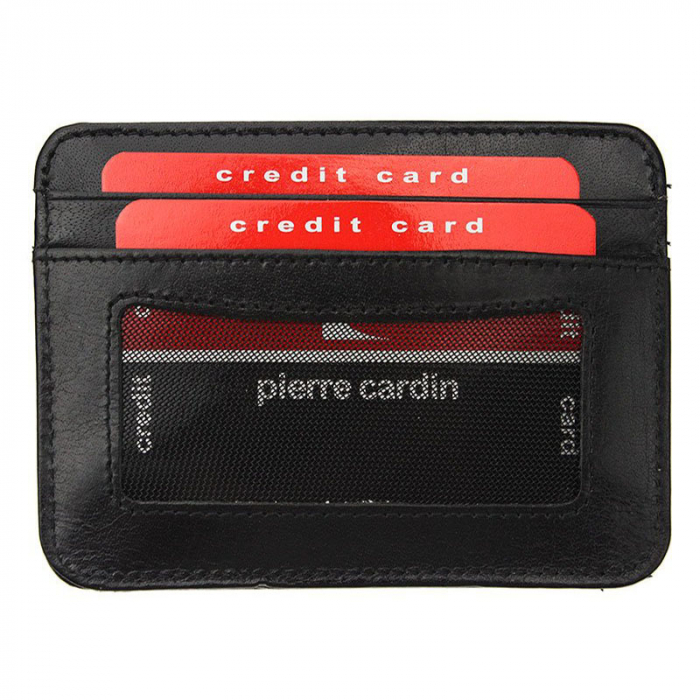 Portcard barbati din piele naturala Pierre Cardin YS520.10 PC02 [3]