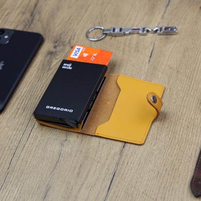 Portcard barbati din piele naturala PB2500, cu protectie RFID [5]