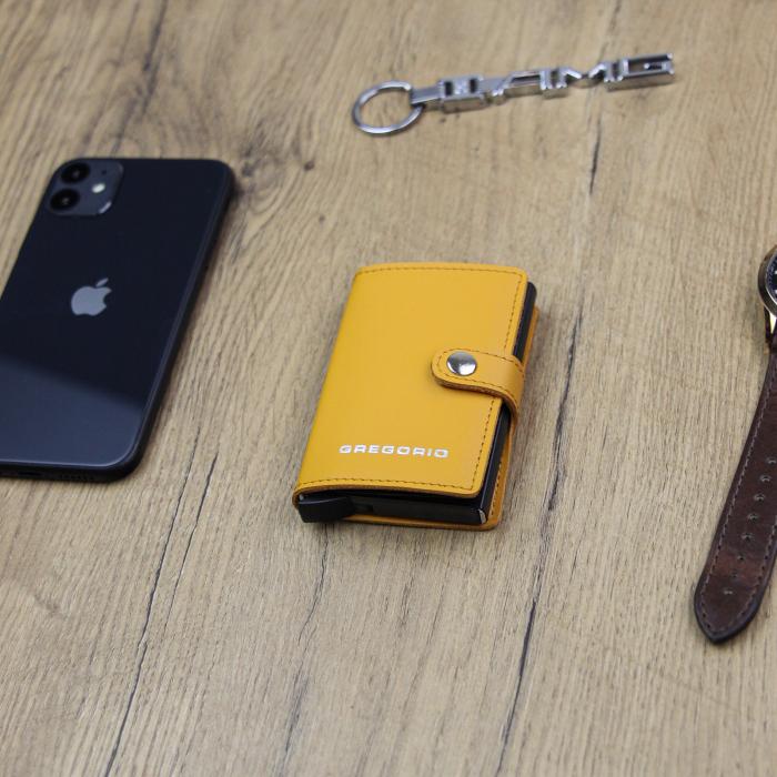 Portcard barbati din piele naturala PB2500, cu protectie RFID [1]
