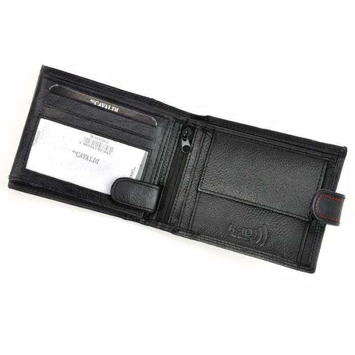 Portofel barbati din piele naturala Cavaldi N992L-SCV RFID 8