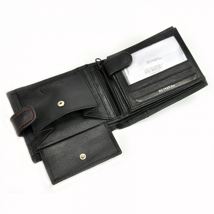 Portofel barbati din piele naturala Cavaldi N992L-SCV RFID 11
