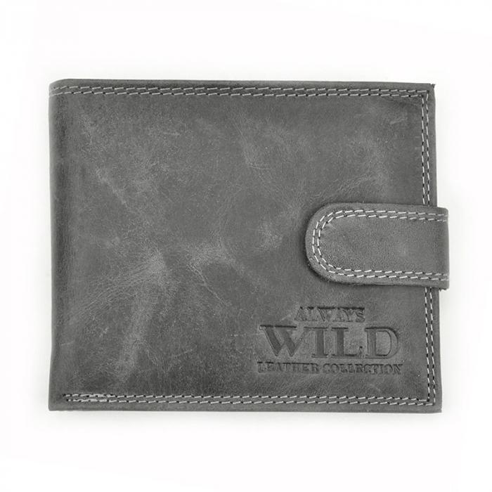 Portofel barbati din piele naturala Wild N992L-CHM RFID 11