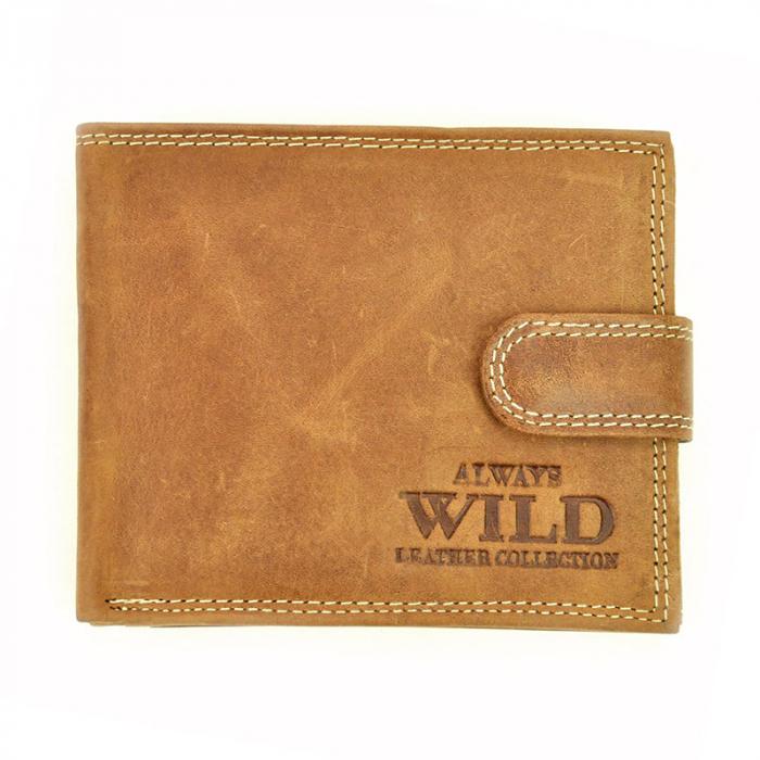 Portofel barbati din piele naturala Wild N992L-CHM RFID 0