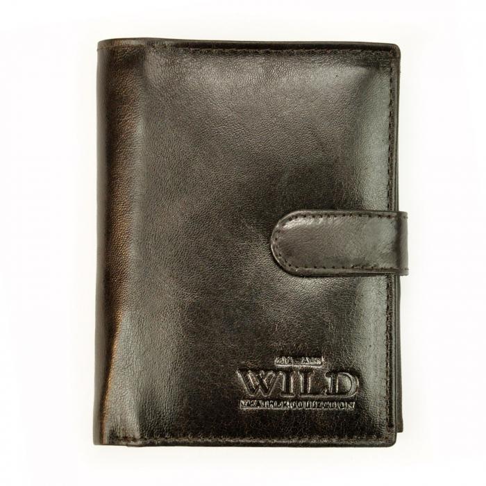 Portofel barbati din piele naturala Wild N4L-VTK RFID [0]