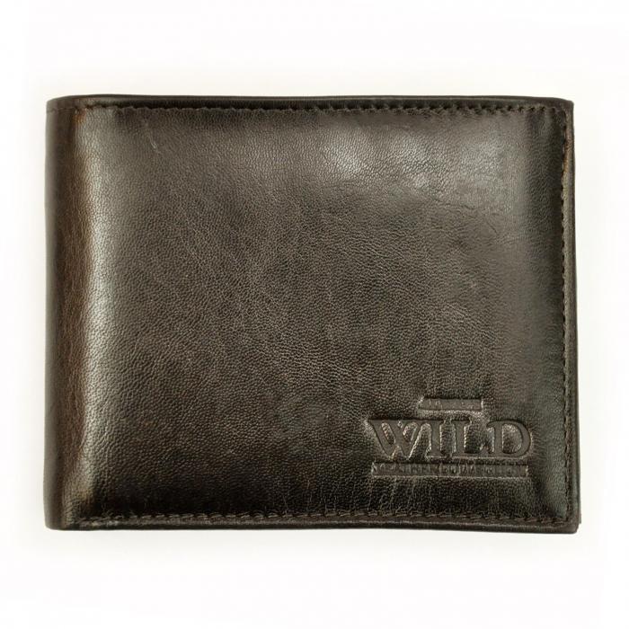 Portofel barbati din piele naturala Wild N992-VTK RFID [0]