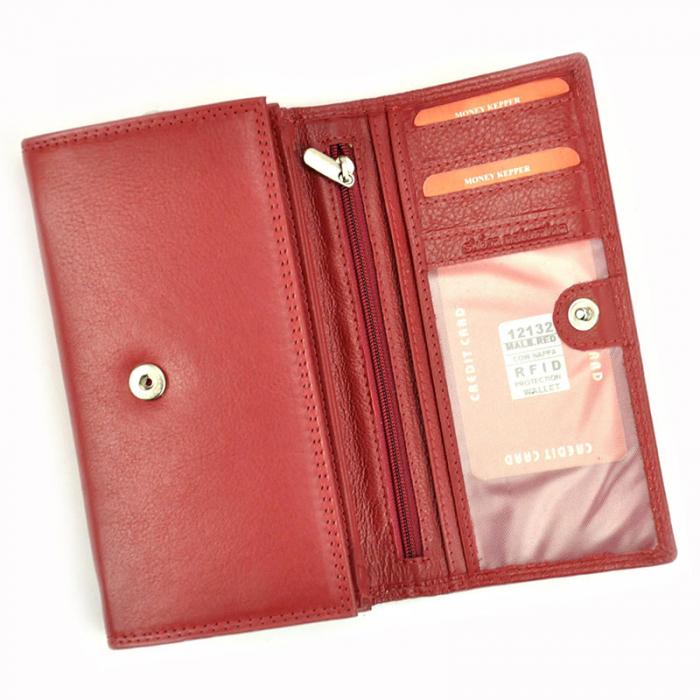 Portofel dama din piele naturala Money Kepper 12132 RFID [5]