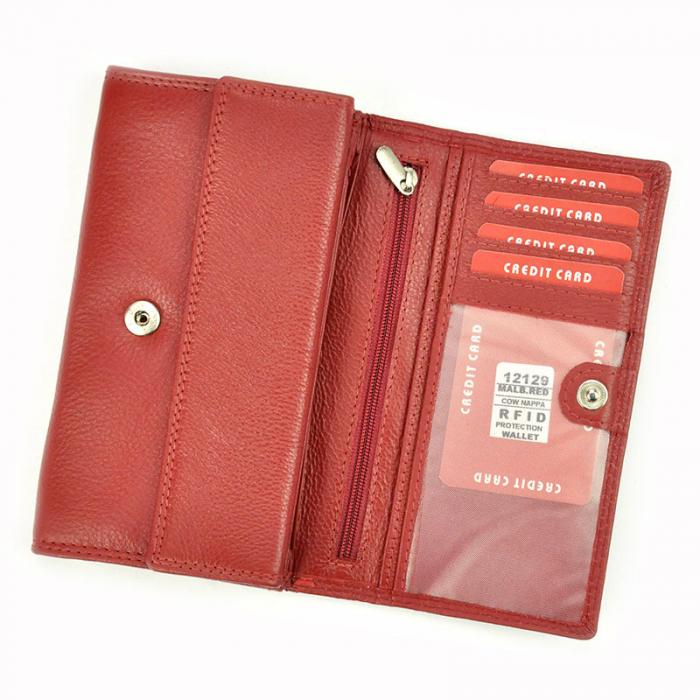 Portofel dama din piele naturala Money Kepper 12129 RFID [4]