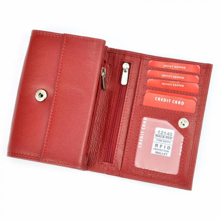 Portofel dama din piele naturala Money Kepper 12145 RFID 4