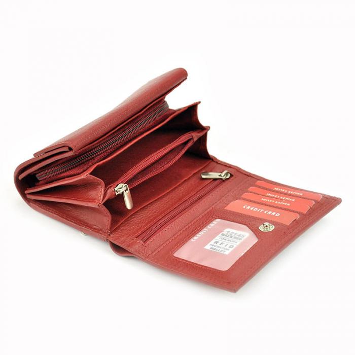 Portofel dama din piele naturala Money Kepper 12145 RFID 5