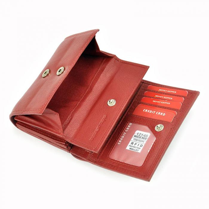 Portofel dama din piele naturala Money Kepper 12145 RFID 7