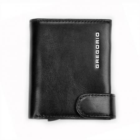 Portcard barbati din piele naturala PB2504, cu protectie RFID0