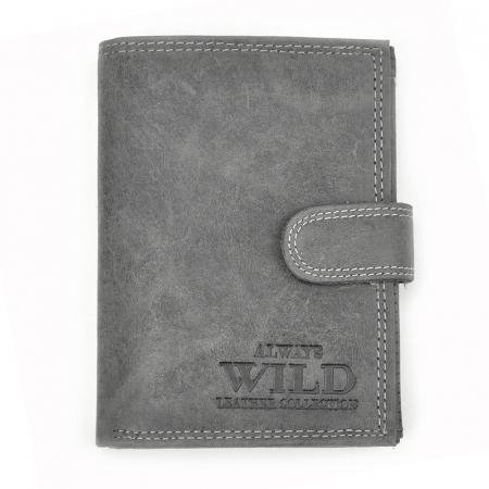 Portofel barbati din piele naturala Wild N4L-CHM RFID [8]